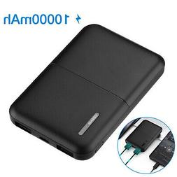 10000mAh Portable Power Bank Dual USB External Battery Charg