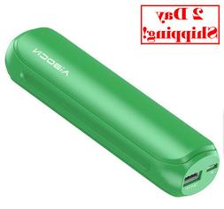 Aibocn Mini Power Bank, 8000mAh Portable External Charger wi