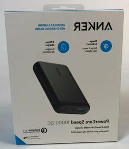 NEW Anker PowerCore Speed 10000mAh QC Portable Charger Qualc