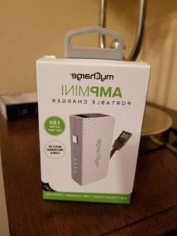 New Sealed My Charge Amp Mini Portable Charger - Comes Pre C