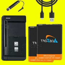 New ZTE 2x Replacement Battery for Velocity MF923 AT&T 3020m