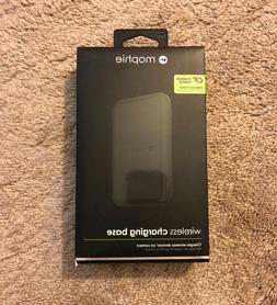 NWT Black Mophie Wireless Portable Qi Charging Base for iPho