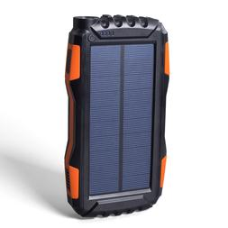 Outdoor Solar Power Bank Waterproof <font><b>20000mAh</b></f