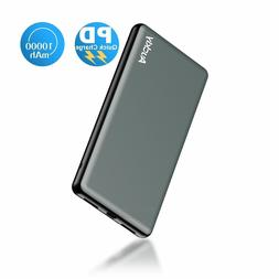 PD Portable External Charger Giant,Auckly10000mAh USB Type C