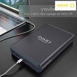 PD Power Bank 50000mAh Crave PowerPack Portable Battery Pack