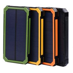 For Phone 50000mAh Portable USB External Battery Solar Power