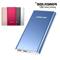 Poweradd 10000mAh Power Bank Portable Charger Dual USB Exter