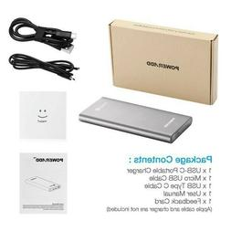 Poweradd Pilot 2Gs 10000Mah Power Bank Portable Charger Fast