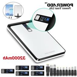 Poweradd Pilot 32000mAh Dual USB 4.5A Power Bank Phone Table