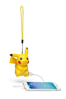 Pokemon Pikachu Portable USB Charger Cell Phone Battery Tabl