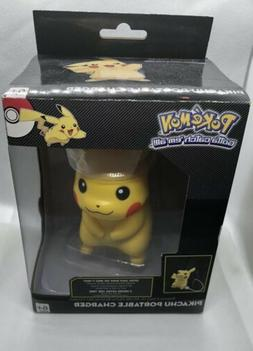 pokemon pikachu portable usb charger cell phone