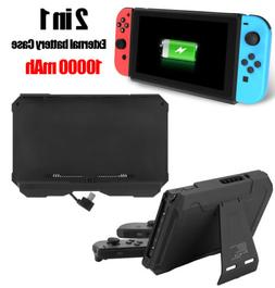 Portable 10000mAh Charger Power Bank Case w/Stand for Ninten