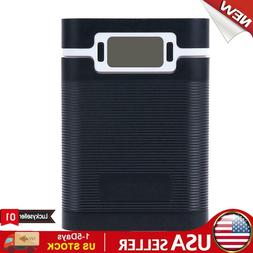 Portable 5V 2A 4x 18650 Power Bank Case Kit Battery Charger