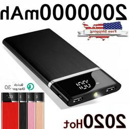 portable 900000mah ultra thin power bank external