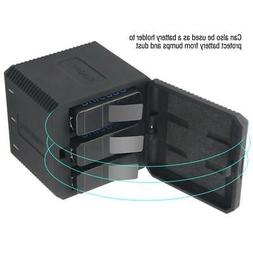 Portable Battery Charger 3 Slots USB Charger for GoPro HERO