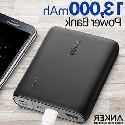 Anker Portable Charger 13000mAh PowerCore - 2 Port Ultra Por