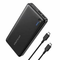 Portable Charger RAVPower 26800mAh 30W PD USB C Power Bank H