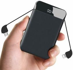 Portable Charger, 9000mAh Power Bank Portable Charger with S