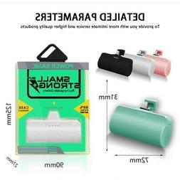 Mini Power Bank 3000mah portable Battery Charger LED For Sam
