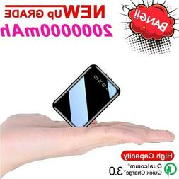 portable charger mini power bank 2000000mah quick