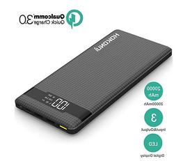 Portable Charger Power Bank Hokonui 20000mAh External Batter