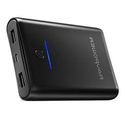 Portable Charger RAVPower 10000mAh Power Bank, Ultra-Compact