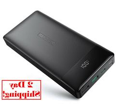 Portable Charger RAVPower Power Delivery 20000mAh Input Outp