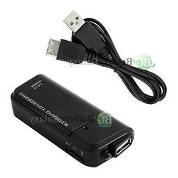 Portable Charger+USB Extend Cable for for Samsung Galaxy S4