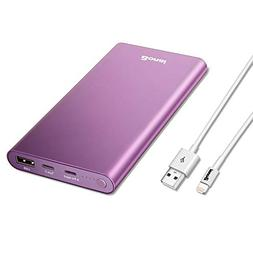 BONAI 12000mAh Portable Charger, 8GN-C Power Bank  Aluminum