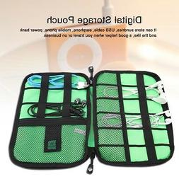 Portable Electronic Accessories Organizer Bag Travel Cable U