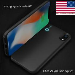 Portable magnetic wireless Charger Power Bank Battery Case f