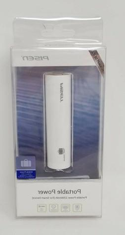 Pisen Portable  PORTABLE POWER 2200mAh For SMART DEVICES- WH