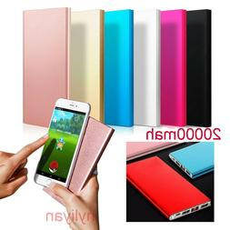 Portable Ultra Thin 20000mAh External Battery Charger Power