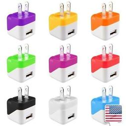 Portable USB Mini Travel Home Wall AC Charger Power Adapter