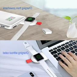 Portable USB Wireless Charger for ALL iWatch series Pocket S