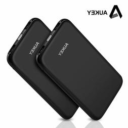 AUKEY Power Bank 10000mAh Portable Charger Slim 2.4A Externa