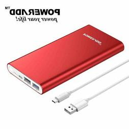 Poweradd Pilot 2GS 10000mAh Power Bank Dual USB Portable Cha