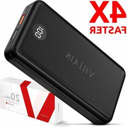 Power Bank Portable Charger 20000mAh Qualcomm Quick Charge 3