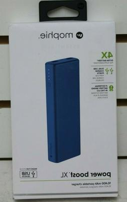 Mophie Power Boost XL Charger 4x blue power bank 10400 mAh p