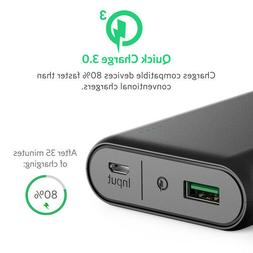 ANKER POWERCORE 10000 MAH QC3.0 Qualcomm Quick Charge 3.0 Po