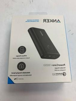 Anker PowerCore+ 10050 mAh Portable Charger Quick Charge Bra