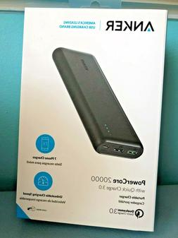 Anker PowerCore 20000 Quick Charge 3.0 Portable Charger A127