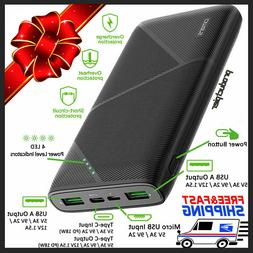 Anker PowerCore 20000mAh Portable Charger Power Bank Externa