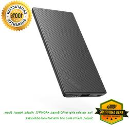 Anker PowerCore Slim 5000 Portable Charger, Ultra Slim 5000m