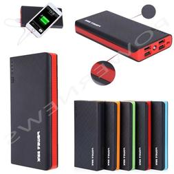 900000mAh 4 USB External Power Bank Portable LCD LED Charger