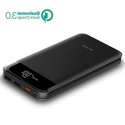 Tqka Quick Charge 3.0, 10000mah Portable Charger Bidirection