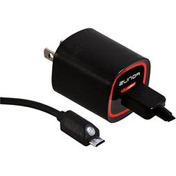 2.4 Amp Rapid Home Wall Travel Charger USB 6ft Long Cable Ad