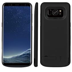 Scheam Samsung Galaxy S8 5000mAh Battery Case Slim Rechargab