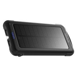Solar Charger RAVPower 10000mAh Outdoor Battery Pack with iS