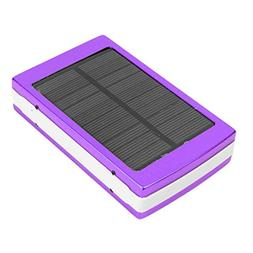 Eachbid Solar Charger Battery Portable 25000mAh Solar Batter